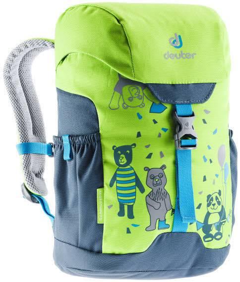 Deuter Schmusebär Kinderrucksack Freizeit Kindergarten Jungen grün NEU - Bild 1