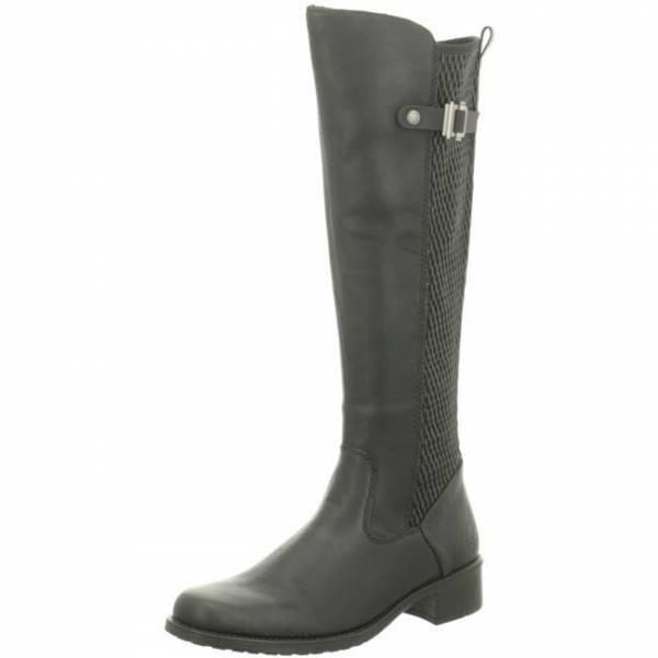 Rieker Stiefel mit XS-Schaft Reißverschluss Damen schwarz NEU