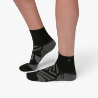 ON Mid Sock Damen Laufsocken Running black | shadow NEU