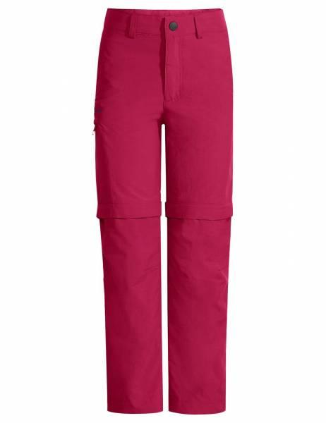 Vaude Kids Detective Antimos ZO Pants Kinder Zipp-Off Hose Outdoorhose red NEU - Bild 1