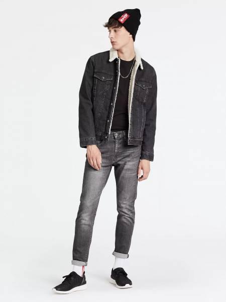 Levi´s 512 28833-0245 Slim Taper Jeans Herren Stretch Jeans grau NEU - Bild 1