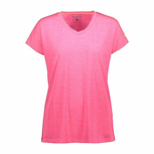 CMP Funktionsshirt Atmungsaktiv Outdoor Freizeit sportlich Damen pink NEU