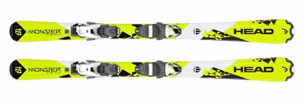 Head Monster Junior SLR II Ski Kinderski Junior Alpin Skiset Kids Allride NEU