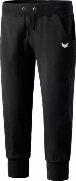 erima 3/4 Sweathose mit Bündschen Damen Sporthose Fitness schwarz NEU - Bild 1