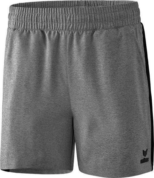 erima Premium One 2.0 Damen Short Polyester Sporthose Fitness grau NEU - Bild 1
