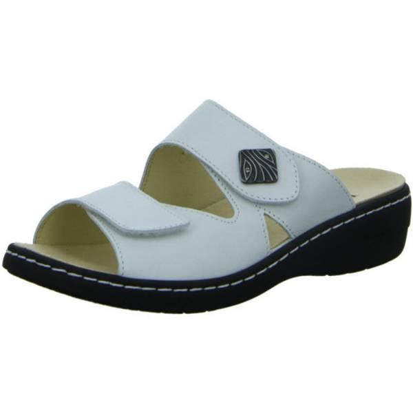 Longo Damen Pantolette Sandale Sandalette Freizeit Outdoor modisch weiss NEU - Bild 1