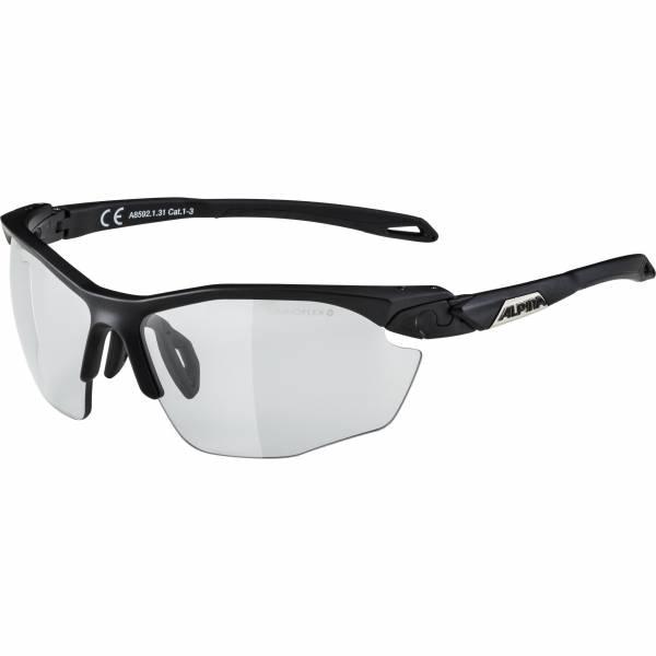 Alpina Twist Five HR VL+ Unisex Sportbrille Skibrille Outdoor schwarz NEU - Bild 1