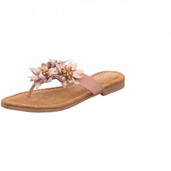Marco Tozzi Flip Flop Damen Sommerschuhe Sandalette modisch rosa NEU - Bild 1
