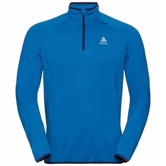 Odlo Carve Light Herren Midlayer 1/2 zip Skirolli Sweater Wintersport blue NEU - Bild 1