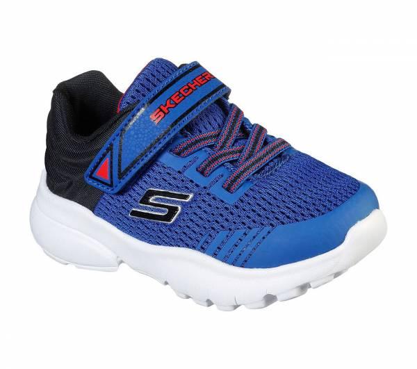 Skechers Razor Flex Mezder Kinder Freizeitschuhe Sneaker Outdoorschuhe blau NEU