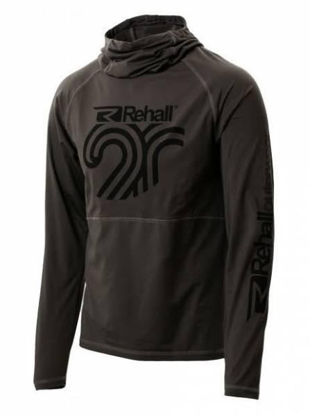 Rehall Jack-R Herren Midlayer Hoodie Wintersport Kapuzenpullover graphite NEU - Bild 1