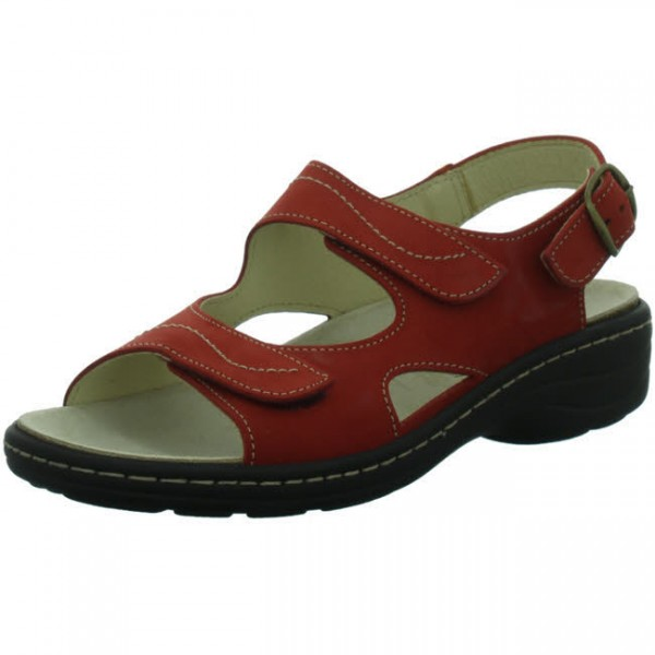 Longo Sandalen Damen Sommerschuh Freizeitschuh rot NEU - Bild 1