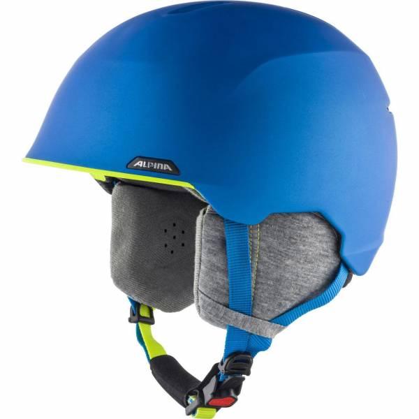 Alpina Albona Skihelm Snowboardhelm blue neon yellow mat NEU - Bild 1