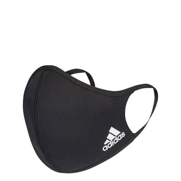Adidas Face Mask 3er Pack schwarz NEU - Bild 1