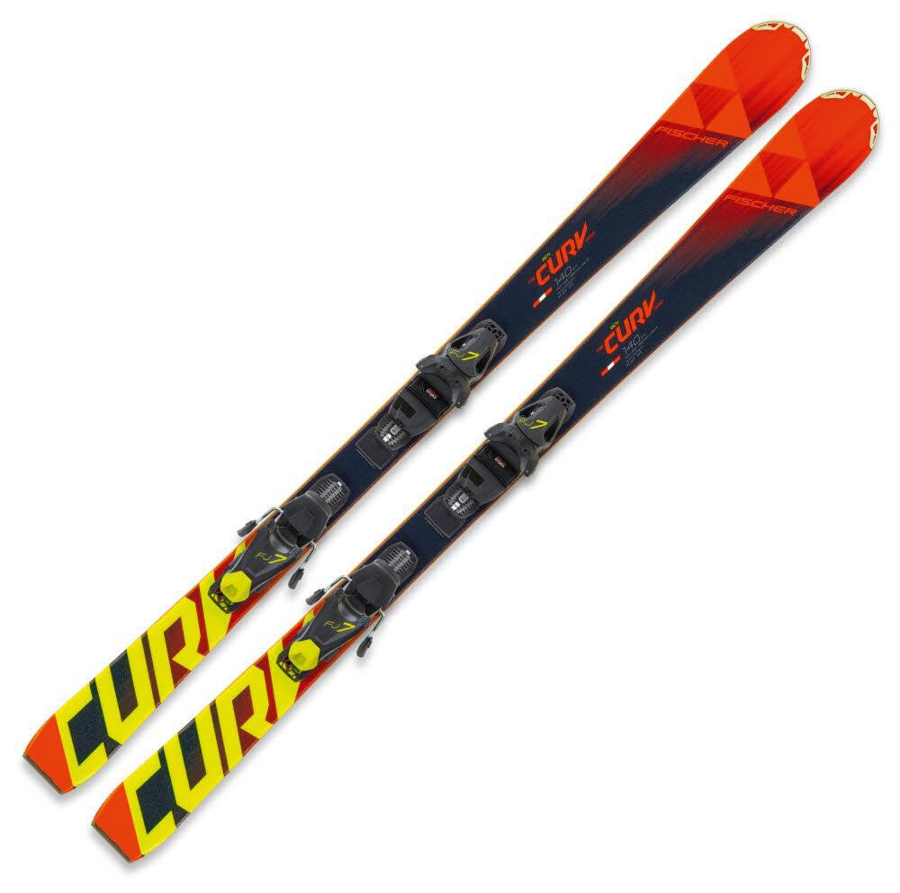 Ski Jungen Fischer Rot