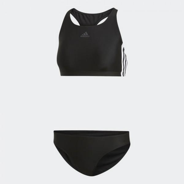 adidas 3-Streifen Bikini Badekleidung Freizeit Sport Damen schwarz NEU