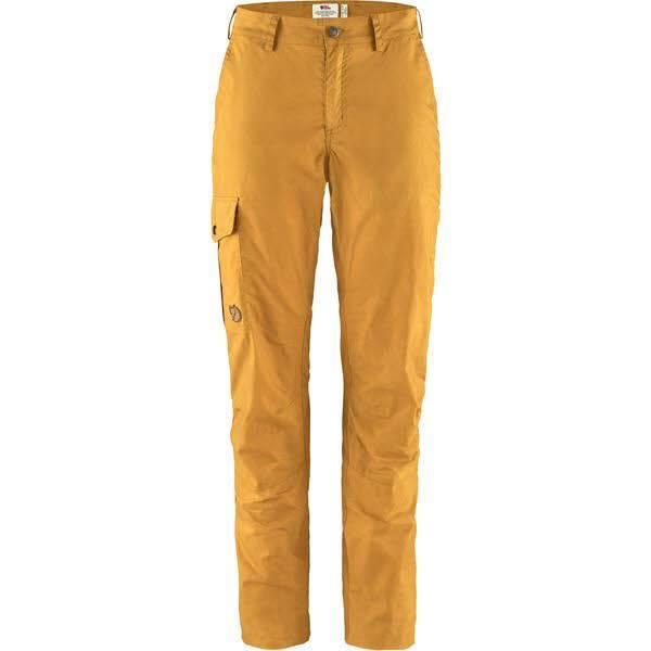 Fjällräven Karla Lite Trousers W Damen Trekkinghose Wandern Outdoor senfgelb NEU - Bild 1