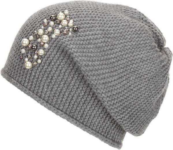 Eisbär Pearl OS Damen Mütze Wintermütze Outdoor Beanie Freizeit graumele NEU