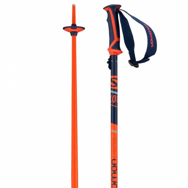 Salomon X 08 Poles Blue/Red 18/19 Uni Skistöcke OnPiste Alpine Poles 1 Paar NEU - Bild 1