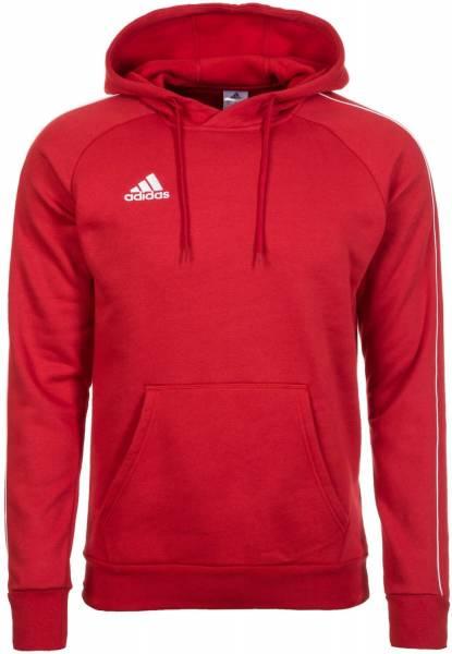 adidas HE Core 18 Hoody Herren Kapuzen Pullover Sweatshirt rot NEU
