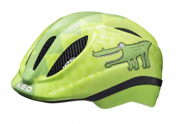 KED Meggy II Trend Green Croco Jungen Radhelm Bike Freizeit grün NEU