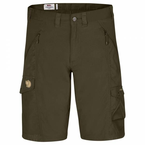 Fjällräven Abisko Shorts Herren Trekking-Shorts Outdoor Wandern dark olive NEU