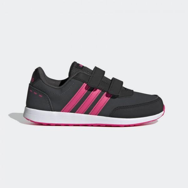 Adidas Switch 2.0 Laufschuhe Kinder Wandern Fitness Mädchen schwarz NEU - Bild 1