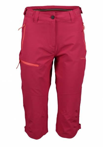 Icepeak Beattie Damen Outdoorhose Capri Trekkinghose Freizeit moosbeere NEU - Bild 1
