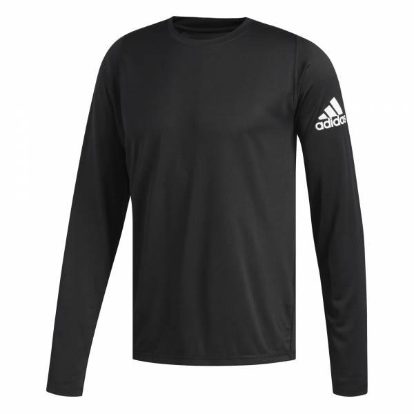 adidas Freelift Sport Solid Badge of Sport Longsleeve Herren Pullover schwarz NEU - Bild 1
