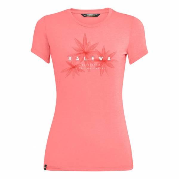 Salewa Lines Graphic Funktionsshirt Outdoor Wandern Damen pink NEU