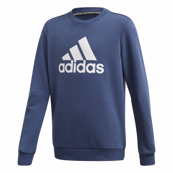 adidas Must Haves Sweatshirt Jungen Pullover Freizeit blau NEU - Bild 1