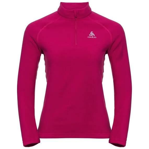 Odlo Bernina Midlayer 1/2 Reißverschluss Damen Funktionsrolli Shirt pink NEU - Bild 1