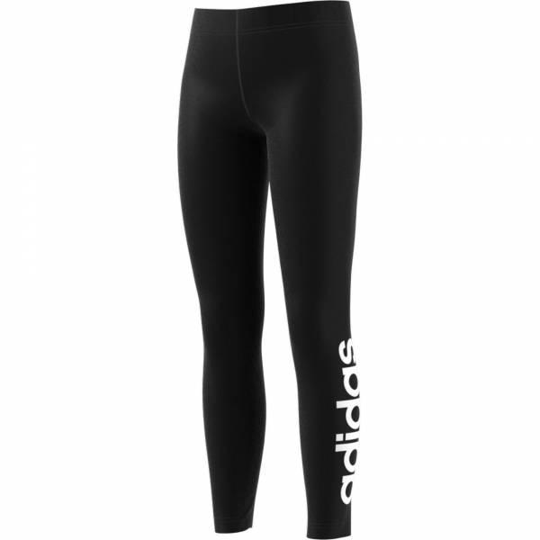 adidas Essentials Linear Tight Mädchen Sporttight Sporthose Leggings schwarz NEU - Bild 1