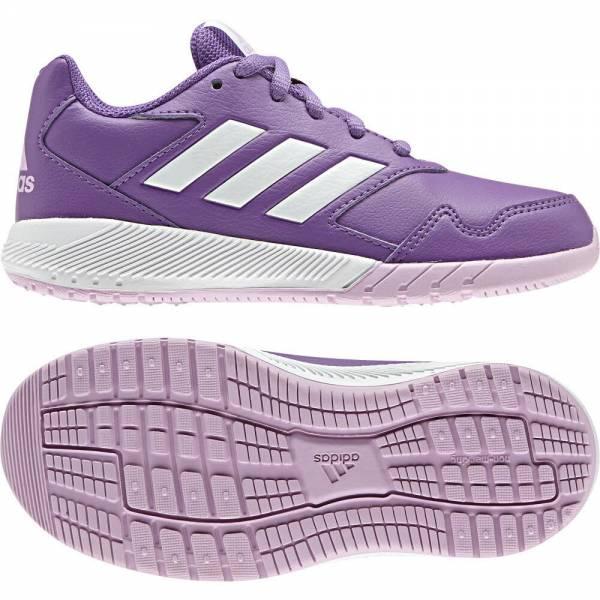 adidas AltaRun K Junior Kinderlaufschuh Running Sneaker Freizeit Sport lila NEU - Bild 1