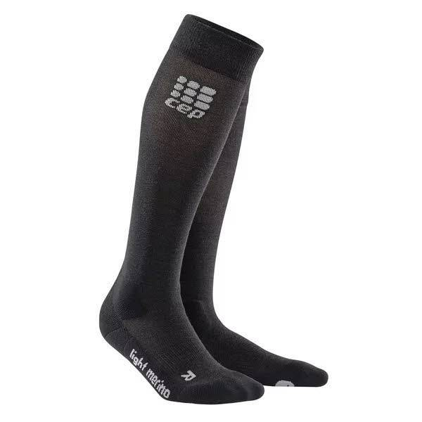 cep Ski Merino Socks Herren Skisocken Kompression Funktion schwarz NEU