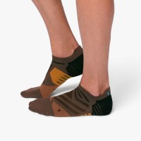 ON Low Sock Herren Laufsocken Running Cocoa |Black NEU