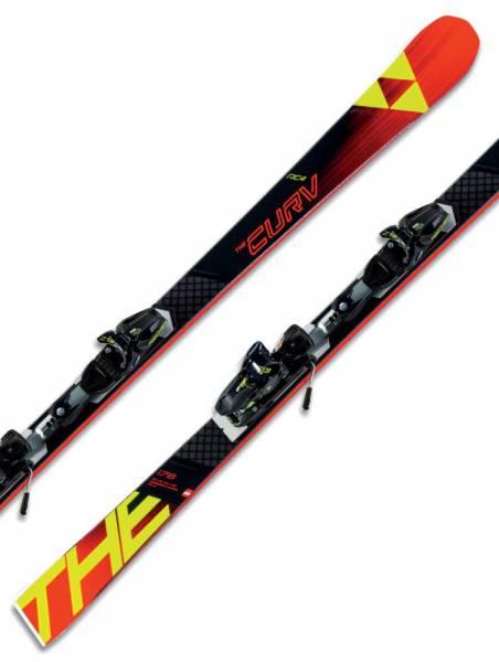 Fischer RC4 The Curv CB Booster 18/19 Riesenslalom Slalom Carver Alpin Skiset
