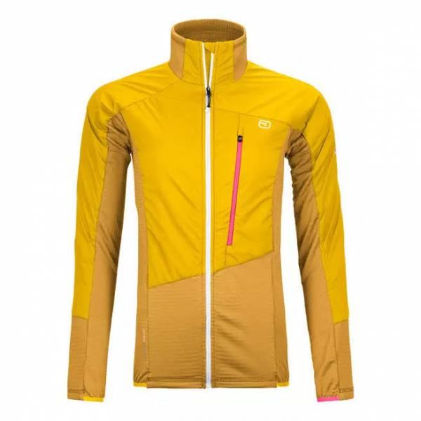 Ortovox Westalpen Swisswool Hybrid Jacket Herren Funktion Outdoor gelb NEU