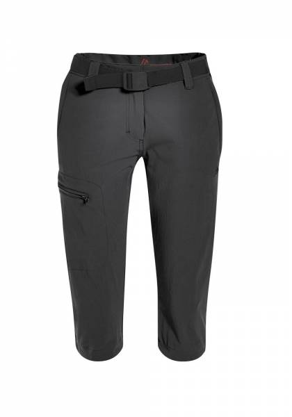 Maier Sports Capri Inara Slim 3/4 Hose Damen Hose Outdoor Freizeit schwarz NEU - Bild 1