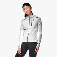 ON Weather Jacket W Damen Laufjacke Training Sport Freizeit grey/white NEU