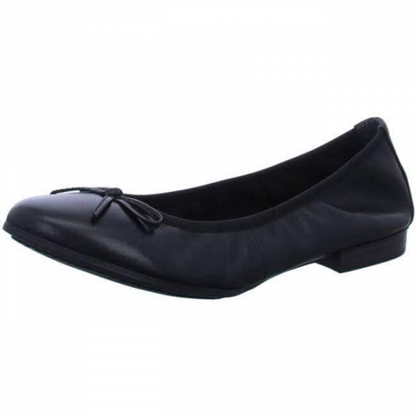 Tamaris Damen Ballerina Damenschuhe Freizeit Mode schwarz NEU