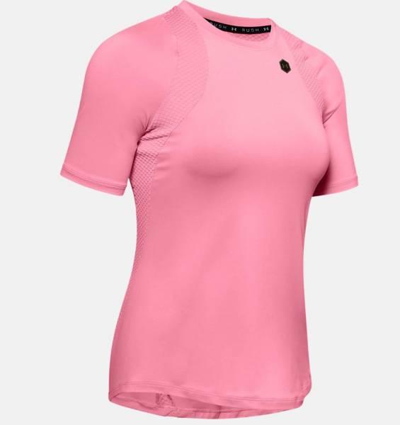 Under Amour Rush Damen Funktionsshirt T-Shirt Fitness Freizeit rosa NEU - Bild 1