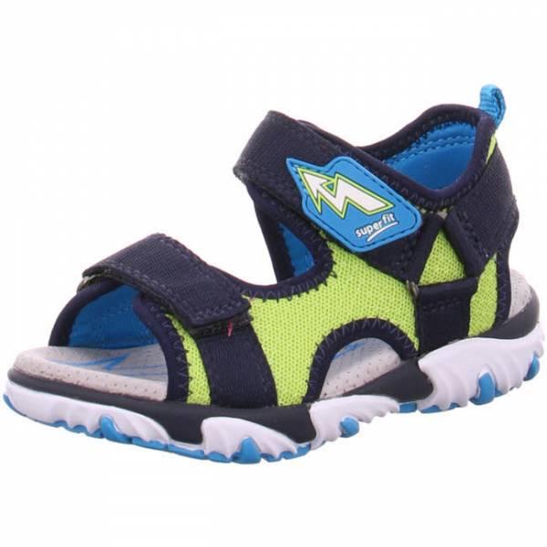 superfit Sandale Mike 2 Jungen Klettverschluss Outdoor Freizeit blau grün NEU - Bild 1