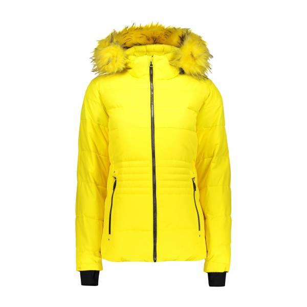 CMP Damen Jacket Zip Hood Skijacke Snowboardjacke Wintersport yellow NEU - Bild 1