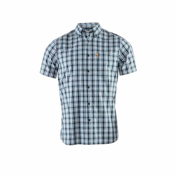 Fjällräven Övik Shirt SS M Herren Hemd kurz Button-Down-Kragen Bio-Baumwolle NEU