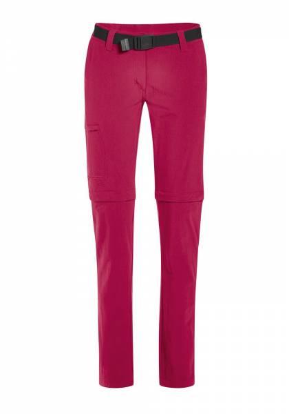 Maier Sports Wanderhose Inara Slim Zip Damen Funktion Outdoor Freizeit pink NEU - Bild 1
