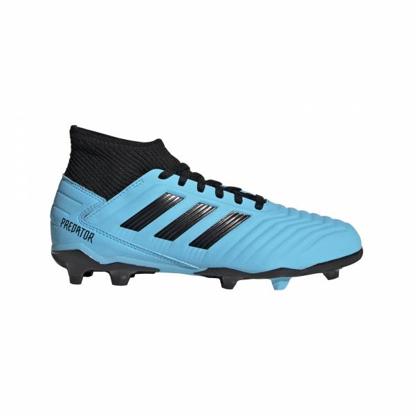 adidas Predator 19.3 FG Jungen Fußballschuhe Nocken Freizeit blau NEU - Bild 1