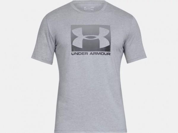 Under Armour Herren Boxed Sportstyle T-Shirt Kurzarm Sport Freizeit grau NEU - Bild 1