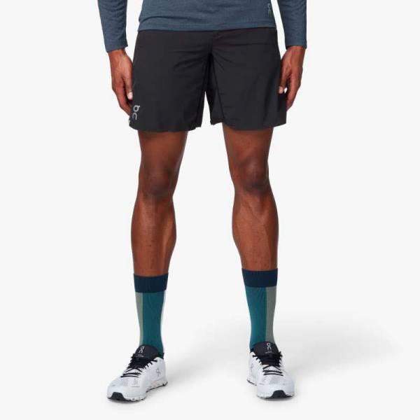 ON Hybrid Shorts Herren Laufshorts Sportshorts Running black NEU - Bild 1