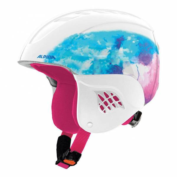 Alpina Carat Junior Kinder Mädchen Girl Skihelm Snowboardhelm Helmet white NEU